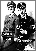 Stanshall + Moon as the Adolf-Twins