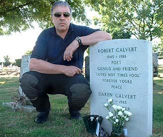 Robert Calvert grave