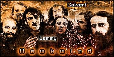Lemmy Kilmister / Motörhead - Collaborator(s) of Robert Calvert